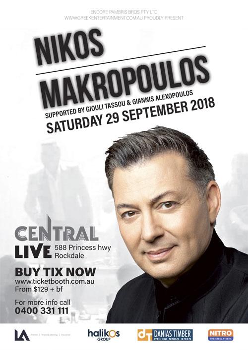 Nikos Makropoulos 2018